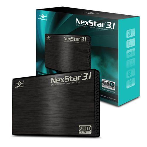 112448-1-Gaveta_Externa_2_5pol_SATA_USB3_1_Vantec_Preta_NST_270A31_BK_112448-5