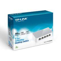 110561-1-Switch_5_Portas_10100_TP_Link_BrancoCinza_TL_SF1005D_110561-5
