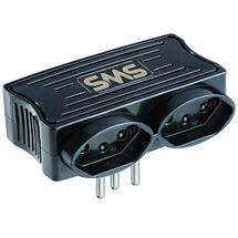 113291-1-Adaptador_de_energia_Carregador_SMS_2x_USB_2_tomadas_Preto_62332_113291-5