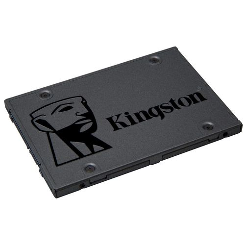 SSD - 2,5pol / SATA3 - 480GB - Kingston A400 - SA400S37/480G