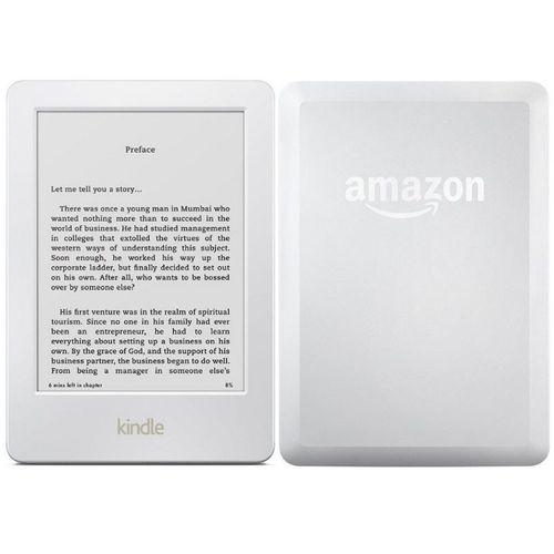 Leitor de Livro Eletrônico - Amazon Kindle (8ª Geração   WiFi   4GB) -  Branco - B0184OCLXC - waz 63c4bc17a5