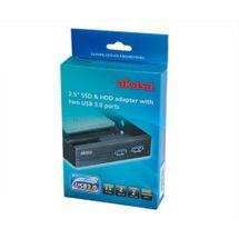 113799-1-Conversor_de_Baia_3_5pol_HDSSD_2_5pol_com_2_portas_USB_3_0_Akasa_AK_HDA_06BKV2_113799-5