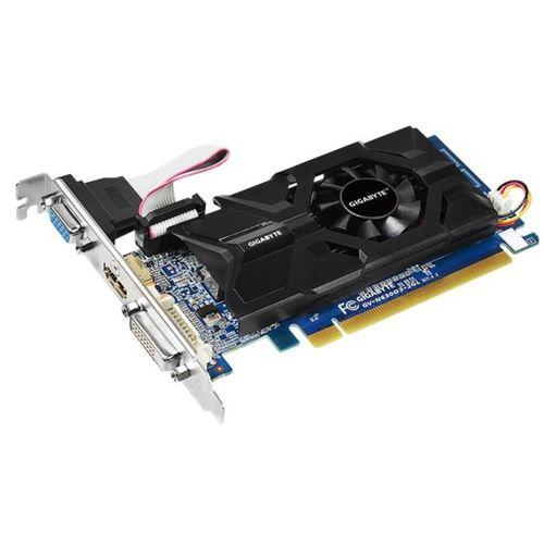Placa de vídeo PCI-E NVIDIA GT 630 2GB/64bits - Gigabyte