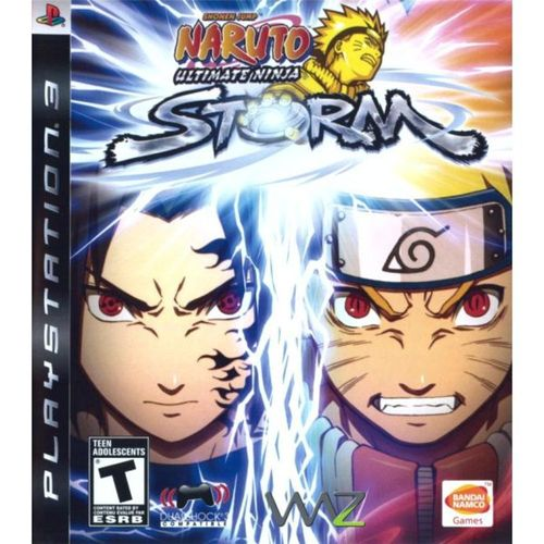 PS3 - Naruto Ultimate Ninja Storm - waz