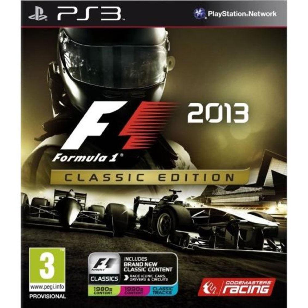 Ps3 F1 2013 Classic Edition Waz