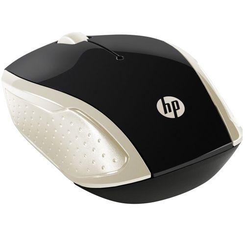 115334-1-Mouse_Sem_Fio_HP_Wireless_X200_Preto_Dourado_115334-5