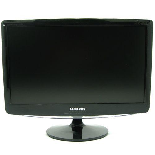 116295-1-SEMINOVO_Monitor_LCD_20pol_Samsung_B2030N_Preto_116295
