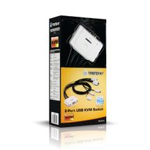 117411-1-Chaveador_KVM_2_Portas_TRENDnet_Usb_Teclado_Video_Mouse_Tk_217I_117411