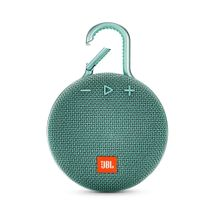 117795-1-Caixa_de_Som_Bluetooth_1_0_JBL_Clip_3_Portable_Bluetooth_Speaker_Verde_JBLCLIP3TEAL_117795