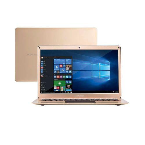 119258-1-Notebook_13_3pol_Multilaser_Dourado_PC223_Celeron_N3350_4GB_RAM_64GB_Armazenamento_Interno_119258