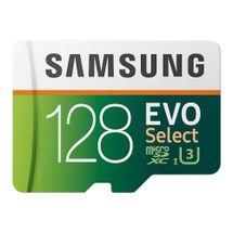 119872-1-_Cartao_de_memoria_microSDXC_128GB_Samsung_EVO_Select_Classe_10_UHS_I_c_Adaptador_100_60MBs_R_W_MB_ME128HA_