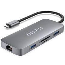 120493-1-Hub_USB_C_31_HooToo_8em1_HT_UC009_2x_USB30_1x_USB_C_100W_1x_USB20_HDMI_Leitor_Cartao_SD_TF_Ethernet_Gigabit_120493