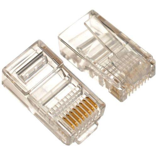 121303-1-Conector_RJ45_p_Cabo_de_Rede_macho_Cat5e_8X8_Fortrek_121303