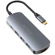121641-1-Hub_USBC_31_7_em_1_3_portas_USB_30_1x_USBC_1x_HDMI_4K_2x_Leitor_de_Cartao_DodoCool_DC76Y_121641