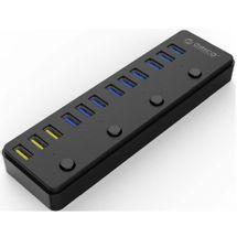 122067-1-Hub_USB_30_12_portas_ORICO_P12_U3_BK_3_Portas_24a_Charging_122067